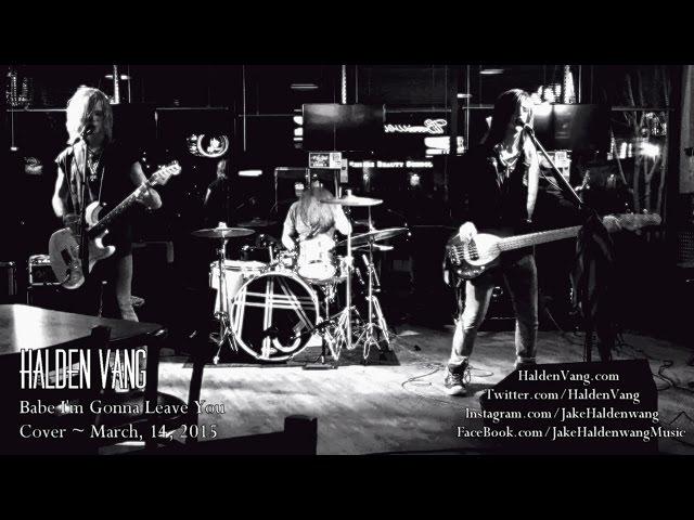 """Led Zeppelin """"Babe I'm Gonna Leave You"""" Halden Vang Live Cover"""
