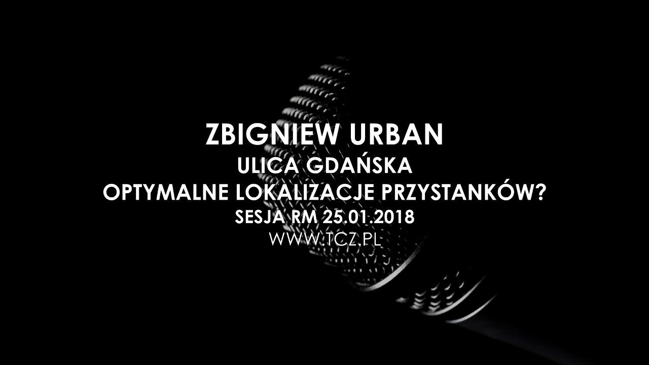 Tczew. Ulica Gdańska, optymalne lokalizacje przystanków?