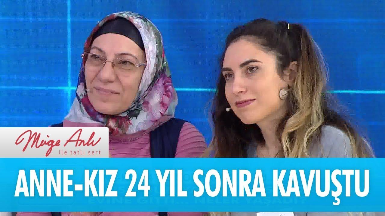 Anne - kız 24 yıl sonra kavuştu - Müge Anlı İle Tatlı Sert 28 Mart 2018 -  YouTube