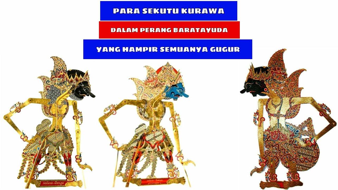 Pandawa lima gambar wayang lan jenenge jenenge pagawean ten boso jowo nama. Gambar Wayang Kulit Jawa 100 Kurawa Lengkap Youtube