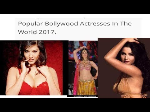 bollywood top ten famous actresses in  Sunny Leon number in number -amazing