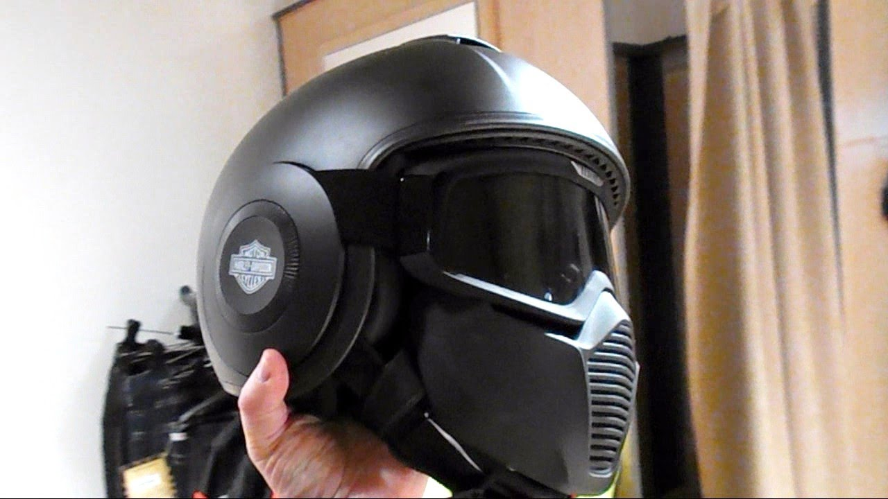 Great Harley Davidson Swat Helmet Better Than Shark Youtube