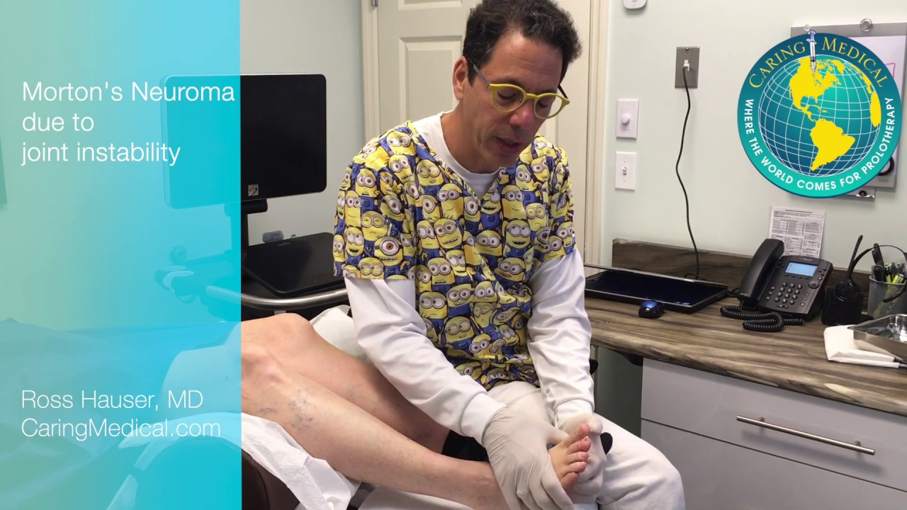 Morton's Neuroma Injections – Caring Medical