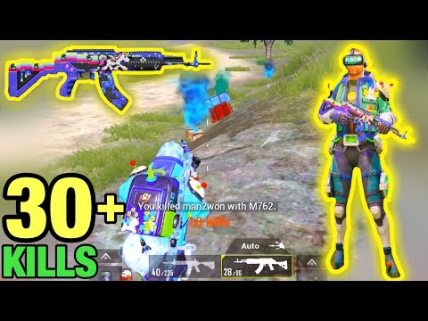 Playing With NEW M762 Unicord Skin Level 5 & Game Master Set   PUBG MOBILE
