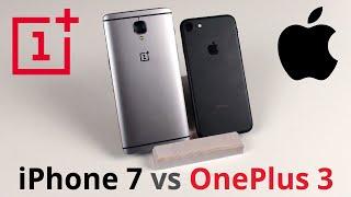iPhone 7 - Обзор   Сравнение с Oneplus 3  