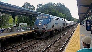 Amtrak Sweet Horn through Peekskill