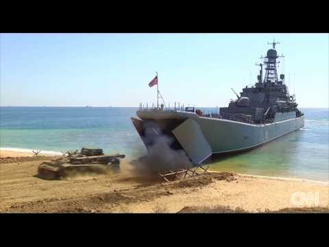 Russia conducts military drills in Crimea 2017