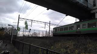 JR北海道 平和駅 快速エアポート通過映像