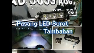 Video Cara Pasang Lampu Tembak Sorot Tambahan Cr7 3 Mata Di Motor Honda C70 download MP3, 3GP, MP4, WEBM, AVI, FLV November 2018