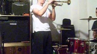 Cherry Pink ( TRUMPET & DRUM COVER)