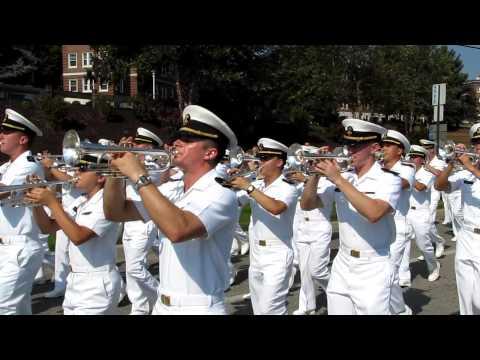 2012 09 22 04 USNA D&B   Anchors Aweigh Marine Hymn