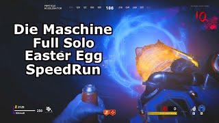 Full Solo Easter Egg Speed Run Cold War Zombies PS4 Die Maschine 32:52