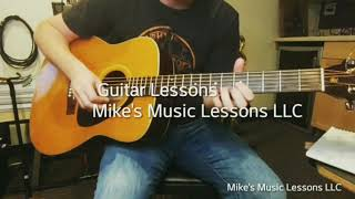 Guitar Lessons/ Mike's Music Lessons LLC