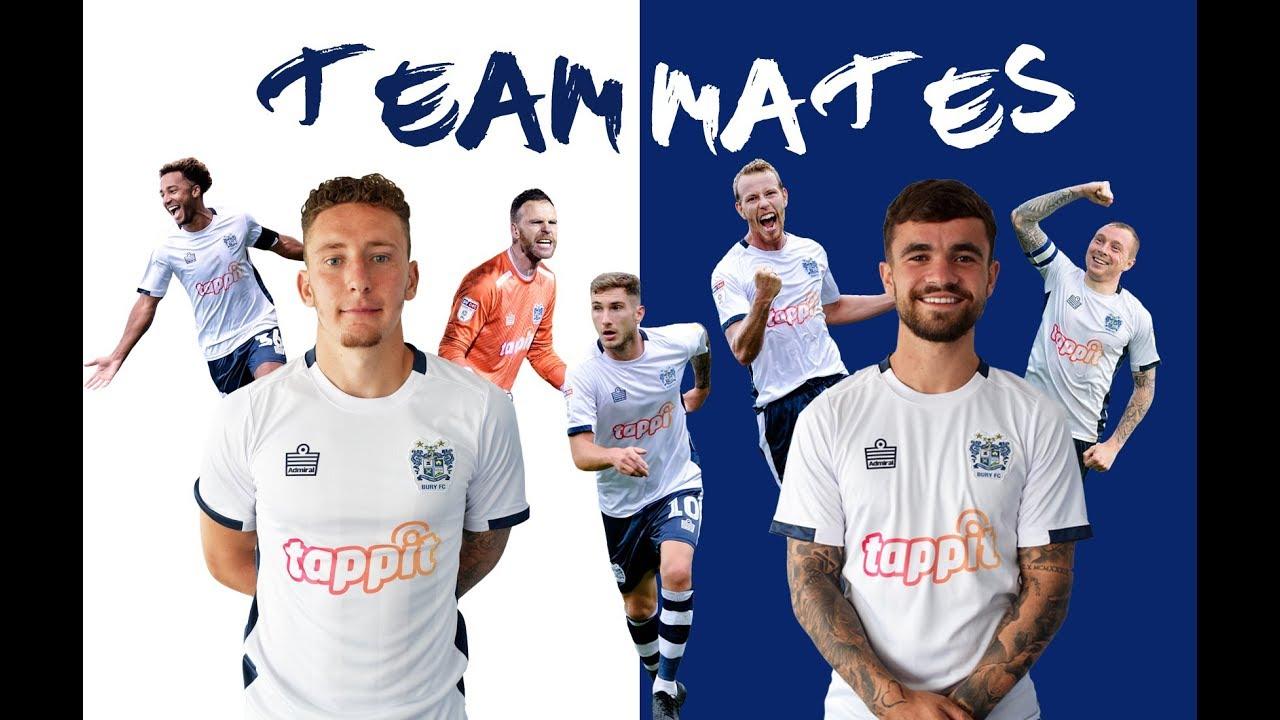 Dom Telford vs Callum McFadzean - Bury FC Team Mate Quiz!