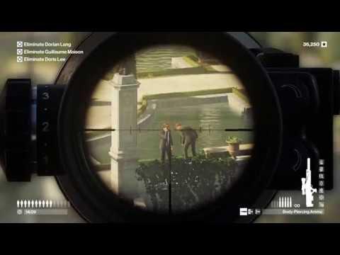 HITMAN 2 Sniper Assassin - Game Walkthrough |