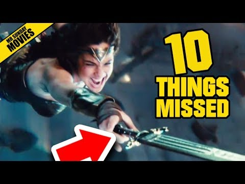 JUSTICE LEAGUE Comic Con Trailer 3 - Things Missed & Easter Eggs