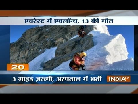 Worst Disaster Ever: Twelve dead in Mount Everest avalanche