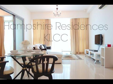 Hampshire Residences KLCC Luxury Condominium for Rent