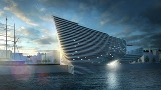 Virtual Flythrough Of The New V&a Museum Dundee By Kengo Kuma
