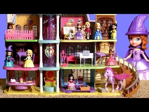 Sofia The First Royal Prep Academy School Talking Playset Disney Princesses Dolls By Toycollector You