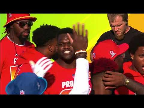 Dodgeball: 2018 NFL Pro Bowl Skills Showdown