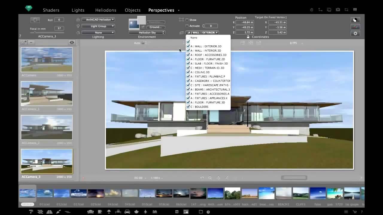 artlantis creating high impact architectural renders. Black Bedroom Furniture Sets. Home Design Ideas