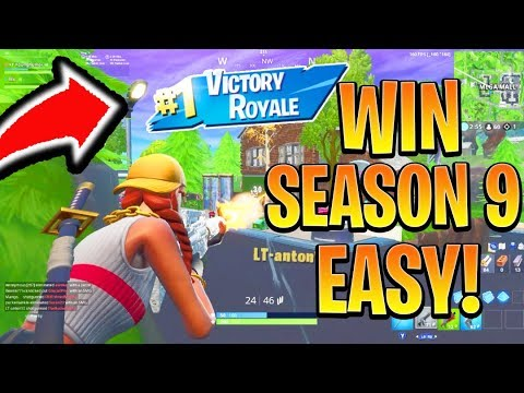 How to Win FIRST GAME in Season 9 Fortnite! Season 9 Best Tips and Tricks! (Fortnite Battle Royale)