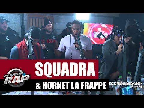 Youtube: Squadra«Charbonneur» ft Hornet La Frappe #PlanèteRap
