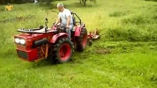 ciągnik ogrodniczy Valpadana z kosiarką