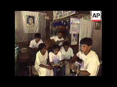 PHILIPPINES: FERDINAND MARCOS CULT WORSHIP