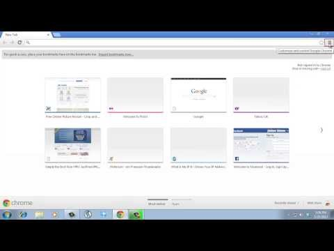 How to Change Font in Google Chrome - YouTube
