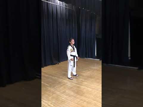 Jake's Taekwondo Performance at Ione Elementary School Talent Show 2018
