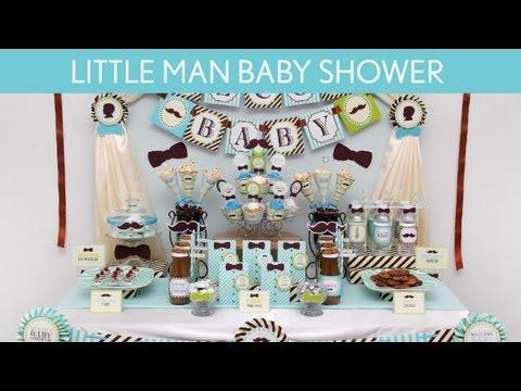 Littleman Baby Shower Party Ideas // Littleman - S10 - YouTube