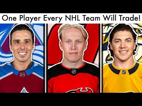 One Player From EVERY NHL Team That Will Be Traded! (Hockey Trade Rumors U0026 Free Agency Talk)