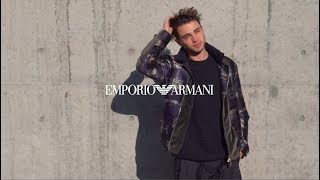 Emporio Armani Men's Fall Winter 2020-2021 fashion show - VIP Interviews