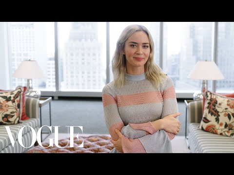 73 Questions With Emily Blunt   Vogue