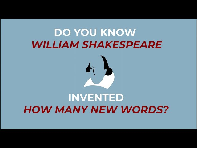 Did You Know ? William Shakespeare also invented multiple words through his plays | Unknown Facts
