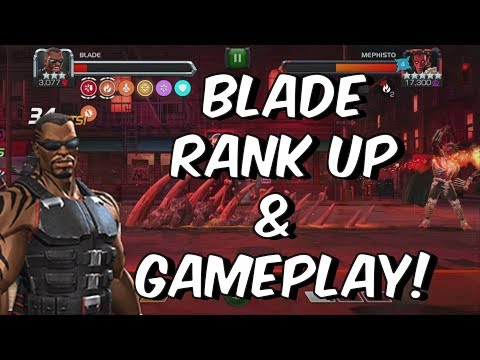 Blade Rank Up, Abilities & Gameplay - Marvel Contest Of Champions