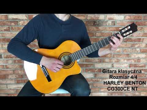 Gitara klasyczna Harley Benton CG300CE NT 4/4