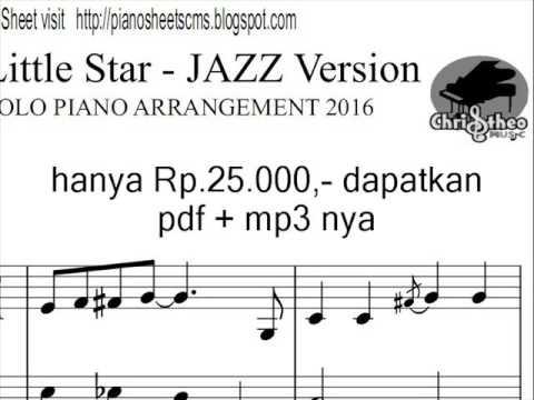 Twinkle Twinkle Little Star Jazz Version Christheo Music Youtube