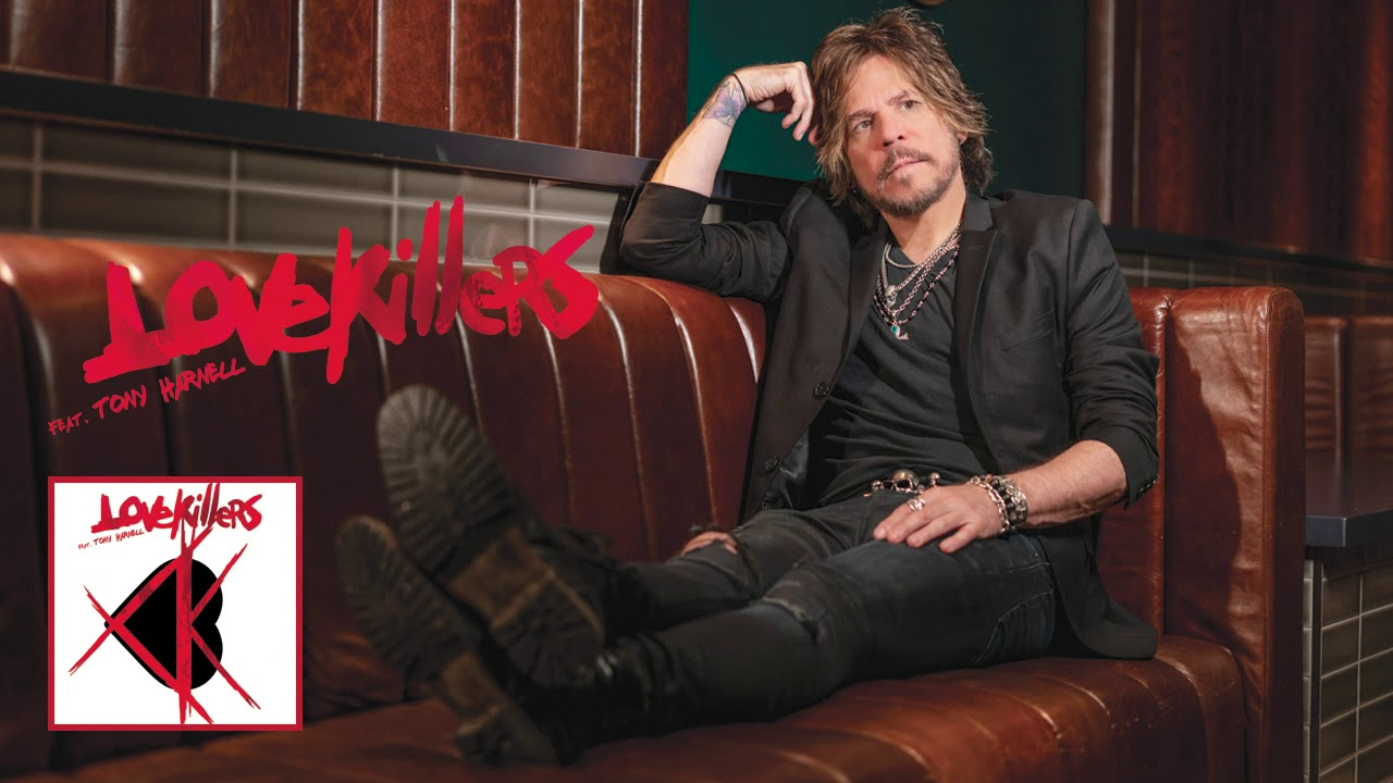 "Lovekillers (feat. Tony Harnell) — ""Ball And Chain"" #TonyHarnell #Lovekillers #BallAndChain"