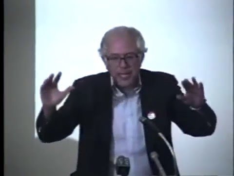 Debate: Bernie Sanders & Peter Diamondstone on Israel & the Middle East - 1990