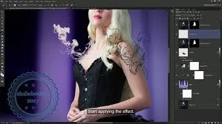 Creative Ink Drop Effect  Photoshop Tutorial