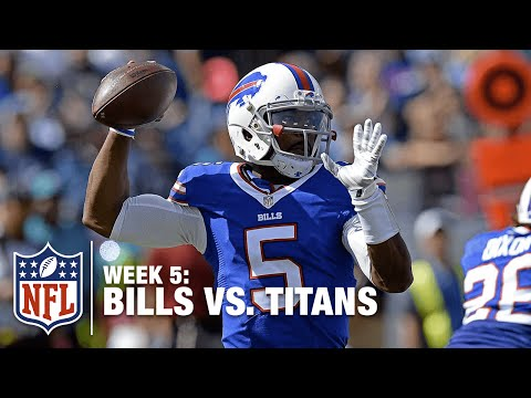 Tyrod Taylor Throws a BOMB to WR Chris Hogan for a 46-Yard Gain!  Bills vs. Titans | NFL