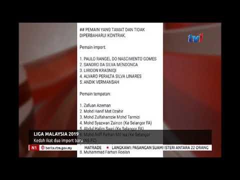 N1 - LIGA MALAYSIA 2019 - KEDAH IKAT DUA IMPORT BARU [26 NOV 2018]