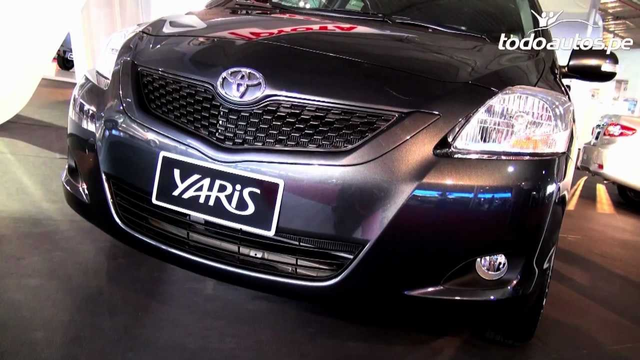 Toyota Yaris 2012 2013 En Per 250 I Video En Full Hd I