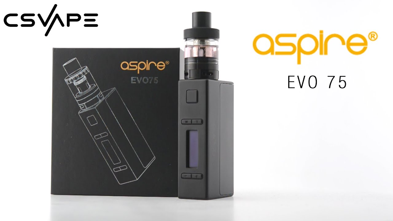 Aspire Evo 75 Kit Product Overview
