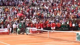 Semifinal copa davis  España Francia en Córdoba parte 12