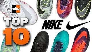 Top 10 nike boots right now! mercurial, magista, hypervenom, tiempo cleats