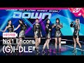 MPD직캠 여자아이들 1위 앵콜 직캠 4K '화火花HWAA' GI-DLE FanCam No.1 Encore | @MCOUNTDOWN_2021.1.28